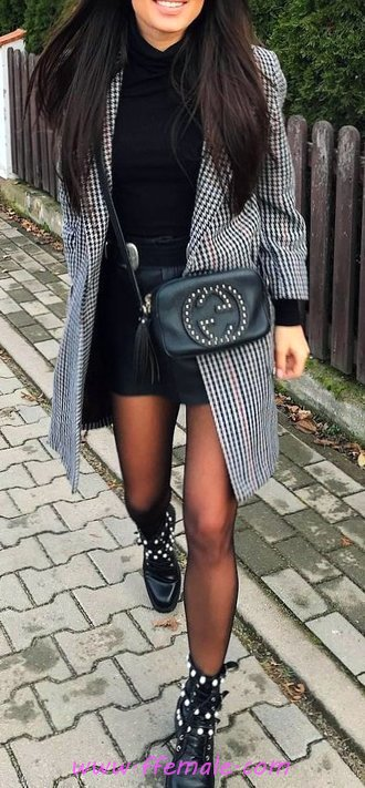 Super And So Fashionable Fall Look - outerwear, graceful, cool, elegance