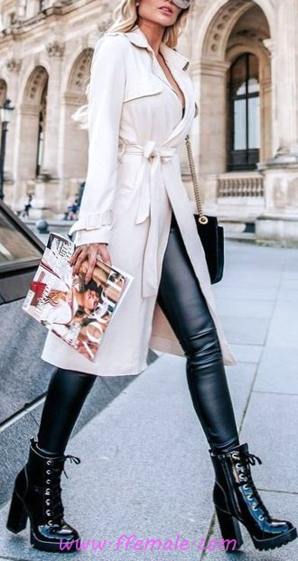 Top And Beautiful Fall Look - outerwear, dressy, elegance