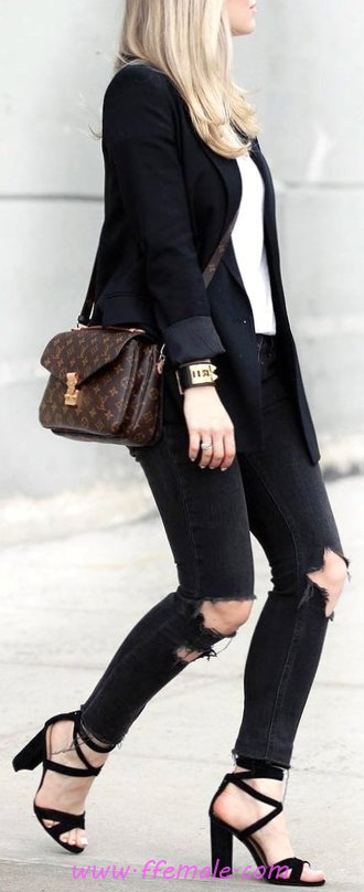 Top And So Glamour Fall Inspiration Idea - attractive, female, outfits, getthelook