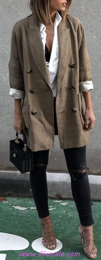 Top & Classic Fall Look - sweet, dressy, elegance, attractive