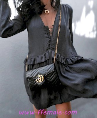 Top attractive and perfect outfit idea - vneck, gray, clothing, female, posing, style, handbag