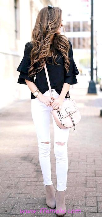 Top attractive and trendy outfit idea - getthelook, thecollection, fashionable