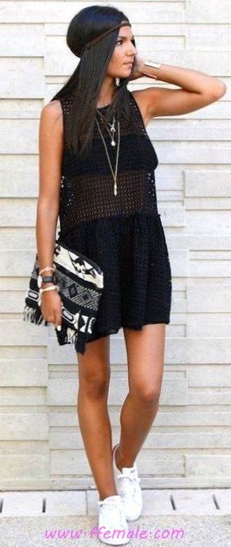 Top awesome and relaxed outfit idea - fashion, black