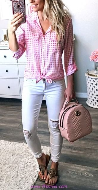 Top awesome and shiny outfit idea - fashion, denim, shirt