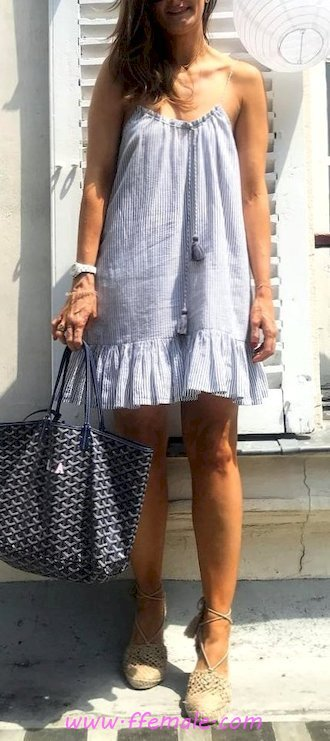 Top awesome and simple wardrobe - sundress, lifestyle, clothes, blue, handbag