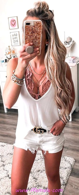 Top beautiful and cute outfit idea - modern, charming, sweet, elegant