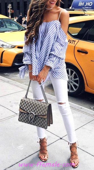 Top classic and trendy outfit idea - elegant, wearing, attractive, dressy