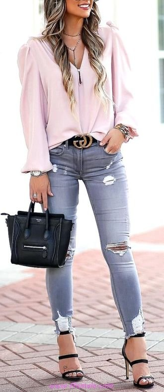 Top fashionable and super outfit idea - outfits , denim