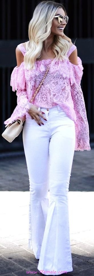 Top glamour and hot look - ideas , pink, rose, bell