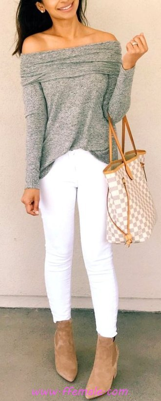 Trendy And Graceful Fall Inspiration Idea - model, getthelook, charming, outfits