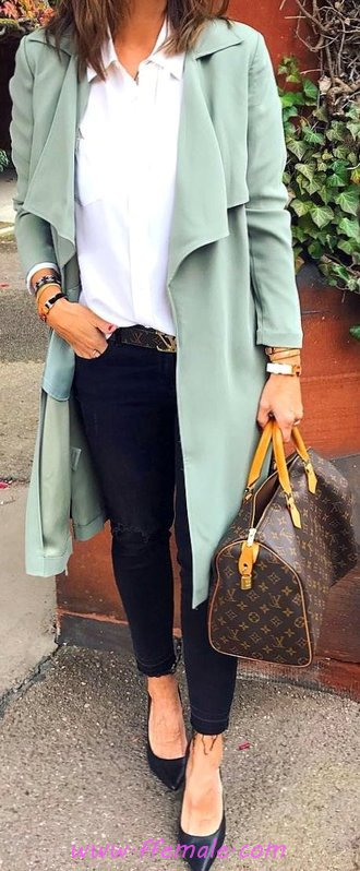 Wonderful And Elegant Fall Wardrobe - ideas, model, thecollection, dressy