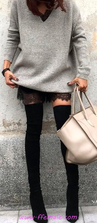Wonderful Fall Outfit Idea - attractive, female, fancy, popular