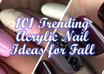 Trending Acrylic Nail Ideas for Fall