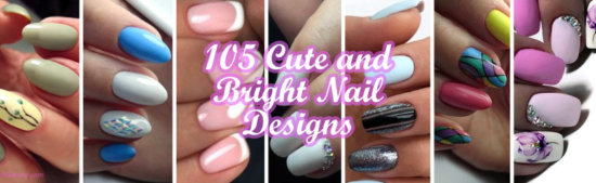 Cute and Bright Nail Designs
