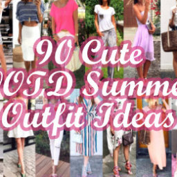 Cute OOTD Summer Outfit Ideas
