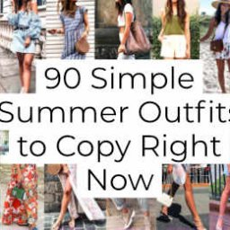 Simple Summer Outfits to Copy Right Now
