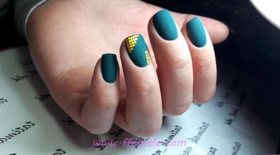 Adorable And Loveable American Gel Nails Trend - nail, lovely, artful, beautytips