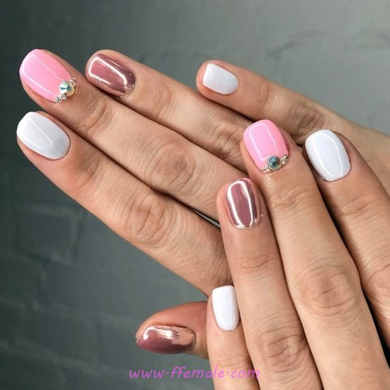 Adorable And Neat Manicure Idea - party, nailart, creative, handsome