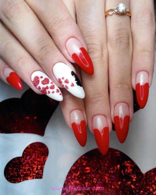 Adorable And Professionail Acrylic Manicure Ideas - selfnail, nailart, fashion, cunning