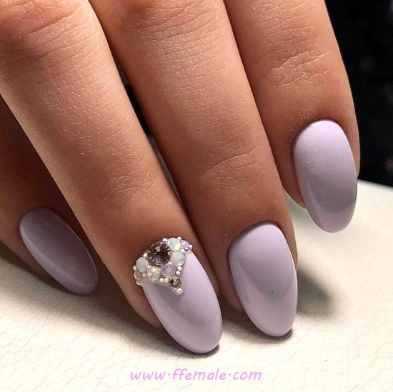 Adorable And Super Idea - elegant, neat, nail, nailstyle, magic