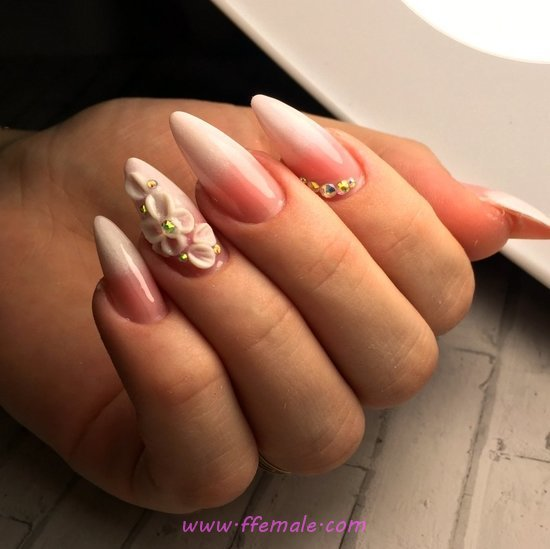 Adorable And Wonderful Nails Trend - trendy, nail, classic
