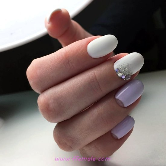 Adorable Easy Gel Nails Art Design - star, nailart, beautytips, gorgeous