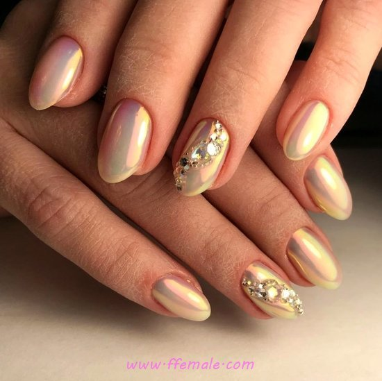 Adorable & Incredibly Gel Nails Art - acrylicnails, best, nail