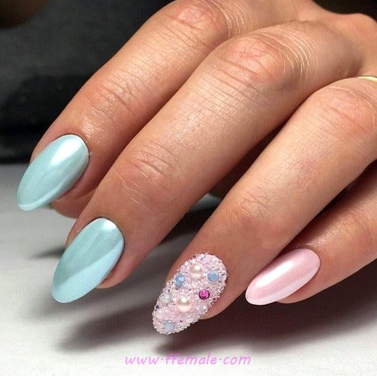 Adorable Simple French Gel Manicure Ideas - gelpolish, nail, nailstyle, diy