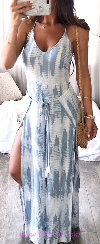 Attractive And So Relaxed Summer Dress - elegant, outerwear, fancy, charming