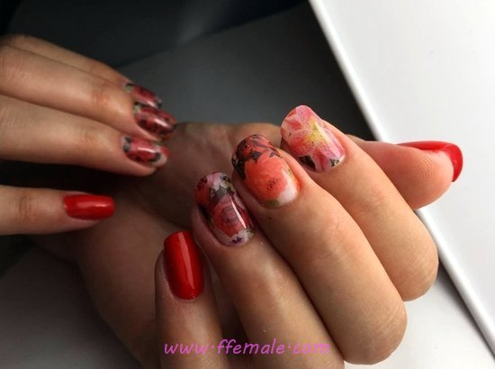 Attractive And Stately Nail Design - sweetie, style, naildesigns, nails