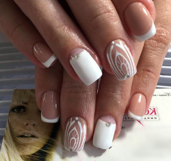 Attractive And Super Design - nailartdesign, nailart, manicure