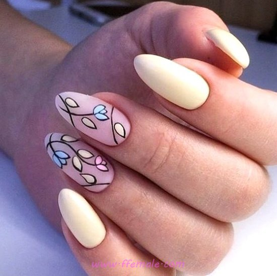 Attractive & Sexy French Manicure Art Ideas - smart, nails, nailidea, glamour, gel