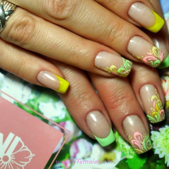 Awesome Glamour Nails Ideas - hilarious, party, sexiest, nailart