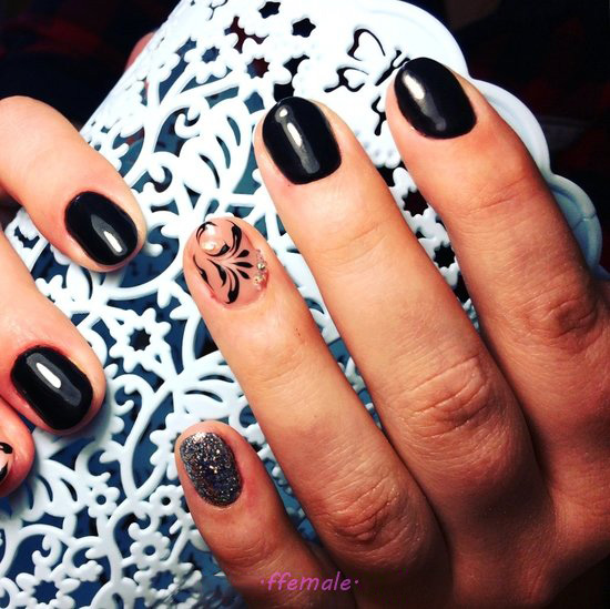 Balanced And Iconic Acrylic Manicure Art Ideas - top, fashion, nailidea, nails, ideas
