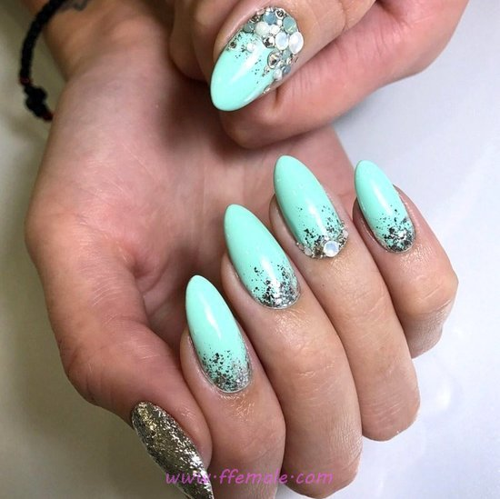 Balanced And Sexy American Acrylic Nail Ideas - awesome, nail, best, fashion, naildiy
