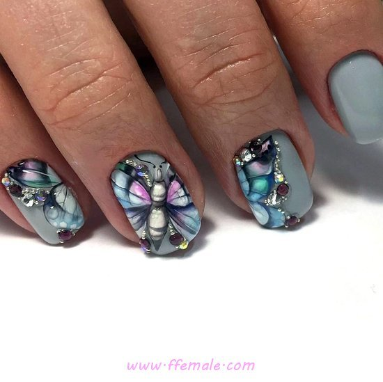 Beautiful Acrylic Nails Design - precious, nailart, gelpolish