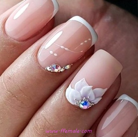 Beautiful And Handy American Gel Manicure Art Design - pretty, handsome, nailstyle, nails