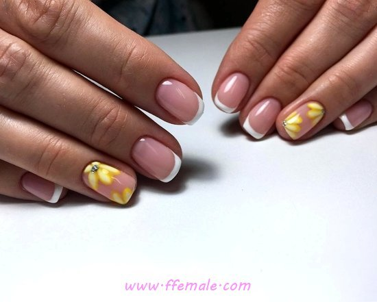 Beautiful And Loveable Gel Manicure Art Design - perfect, idea, nail, naildesigns