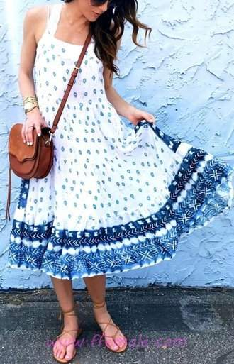 Beautiful And Relaxed Midsummer Look - elegant, cute, wearing, charming