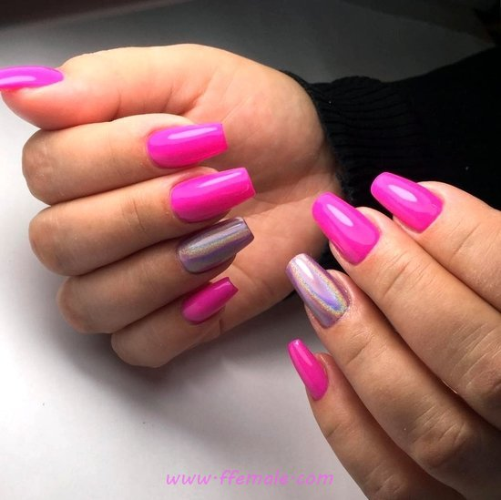 Beautiful And Top French Nails Style - fashion, love, nail, nailartideas