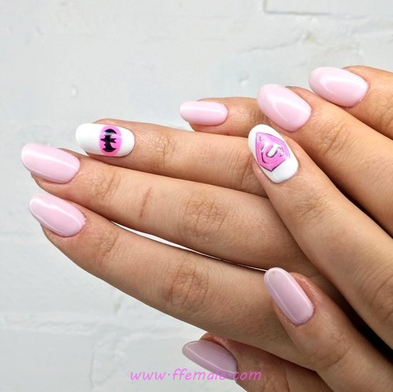 Birthday And Handy Acrylic Nails Design Ideas - handsome, nailtutorial, nails, cutie