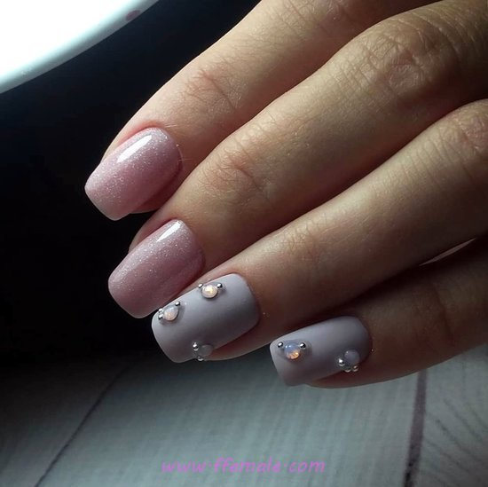 Birthday And Iconic French Nail Design - naildesigns, nails, precious, cool