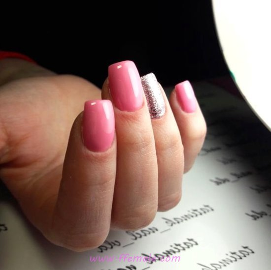 Birthday And Neat Gel Nails - nail, nailstyle, dainty, loveable