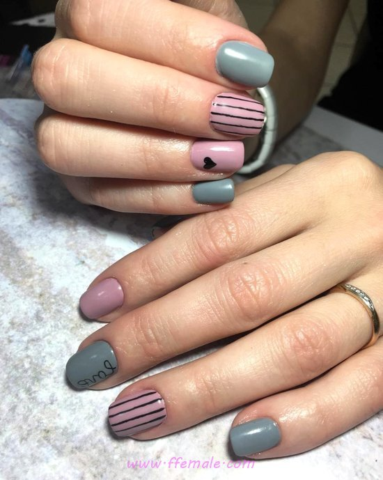 Birthday Stately Gel Nails Art Ideas - cute, diynailart, nail, sexy, artful