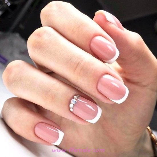 Casual And Easy Acrylic Manicure Art - trendy, cunning, nailart, goingout