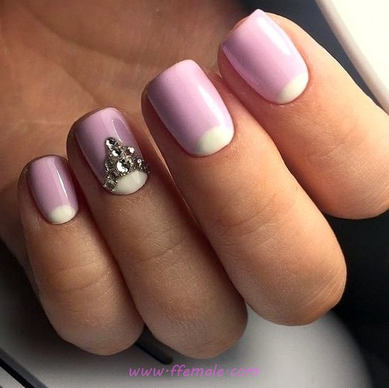 Casual And Handy French Gel Nail Art Ideas - art, trendy, fashionable, nails