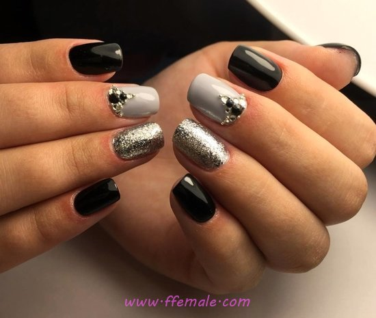 Casual And Stately Gel Nails Trend - cool, nice, teen, nailidea, nail