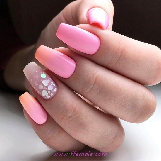 Ceremonial And Lovely Gel Manicure Style - glamour, cunning, nails, lovely