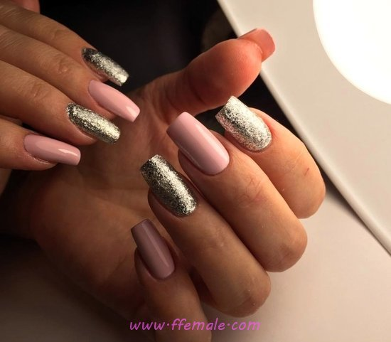 Ceremonial And Neat Gel Manicure Trend - charming, gorgeous, weekend, nailart