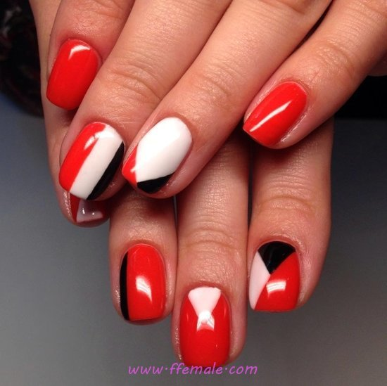 Ceremonial & Glamour Gel Manicure Design - perfect, art, nailidea, nail, elegant